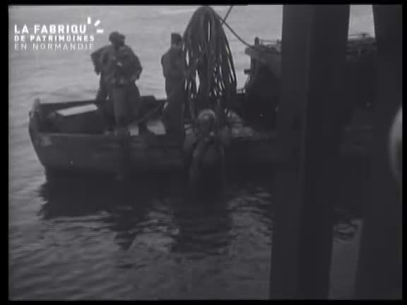 1944, scaphandriers à Cherbourg